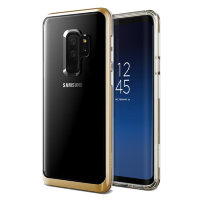 Чехол VRS Design Crystal Bumper для Galaxy S9 Plus Gold