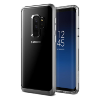 Чехол VRS Design Crystal Bumper для Galaxy S9 Plus Steel Silver