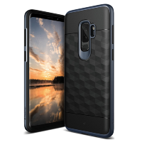 Чехол Caseology Parallax для Galaxy S9 Plus Black / Deep Blue